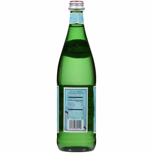 San Pellegrino Sparkling Natural Mineral Water Perspective: back
