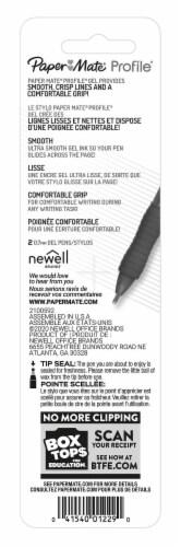 Paper Mate® Profile® Blue 0.7mm Gel Pens Perspective: back