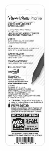 Paper Mate® Profile 0.7mm Gel Pens - Black Perspective: back