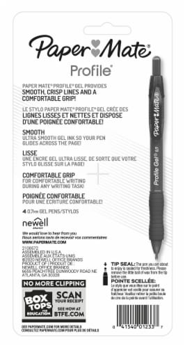 Paper Mate® Profile 0.7mm Assorted Gel Pens Perspective: back