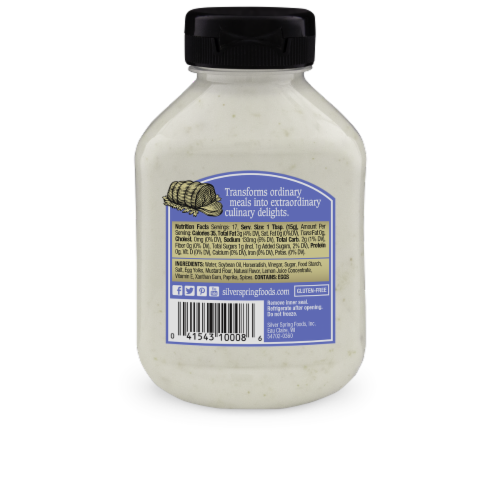 Silver Spring Sassy Horseradish Sauce Perspective: back