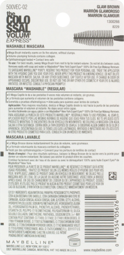 Maybelline The Colossal VolumExpress 232 Glam Brown Mascara Perspective: back
