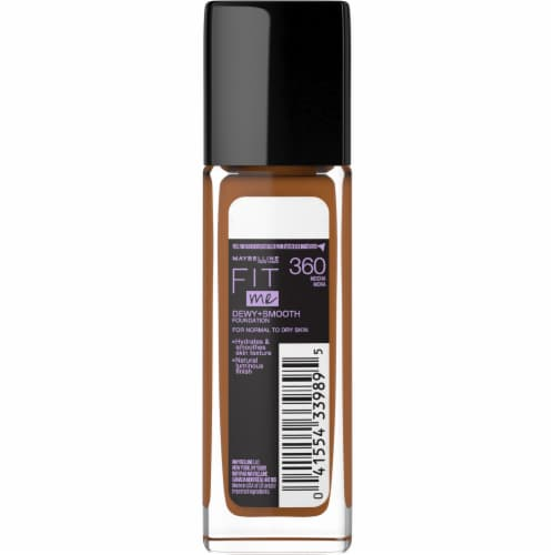 Maybelline Fit Me Mocha Liquid Foundation Perspective: back