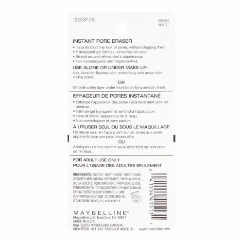 Maybelline Baby Skin Instant Pore Eraser Perspective: back