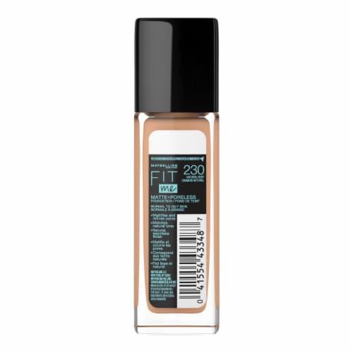 Maybelline Fit Me 230 Natural Buff Matte + Poreless Liquid Foundation Perspective: back