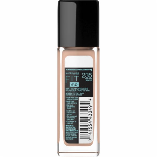 Maybelline Fit Me Matte + Poreless 235 Pure Beige Liquid Foundation Perspective: back