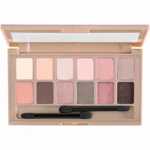 Maybelline The Blushed Nudes Eye Shadow Palette Perspective: back