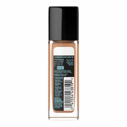 Maybelline Fit Me! Matte + Poreless 322 Warm Honey Liquid Foundation Perspective: back