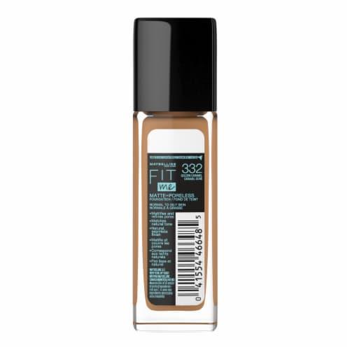 Maybelline Fit Me! Matte + Poreless 332 Golden Caramel Liquid Foundation Perspective: back