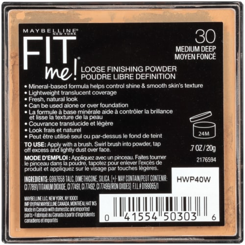 Maybelline Fit Me Loose Finishing Powder - Medium Deep Perspective: back