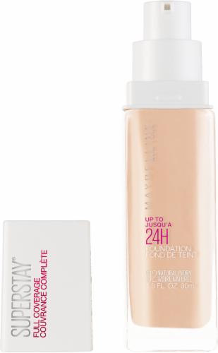 Maybelline Superstay Natural Ivory Full Coverage Liquid Foundation Perspective: back