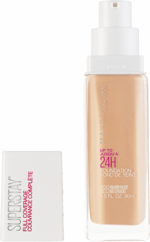 Maybelline Superstay Warm Nude Full Coverage Liquid Foundation Perspective: back