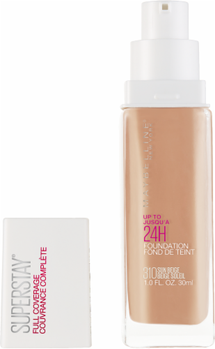 Maybelline Superstay 24-Hour Full Coverage 310 Sun Beige Liquid Foundation Perspective: back