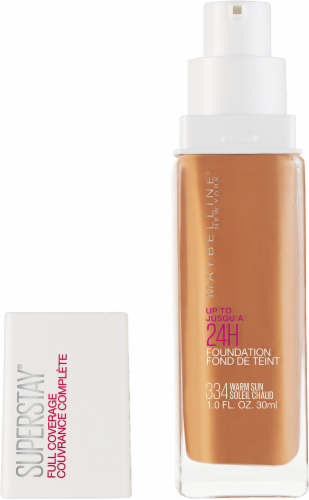 Maybelline Superstay Warm Sun Full Coverage Liquid Foundation Perspective: back