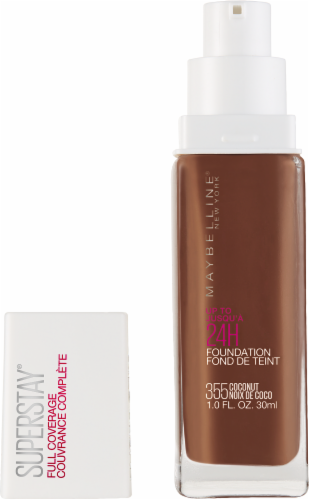 Maybelline Superstay 355 Coconut Full Coverage Liquid Foundation Perspective: back