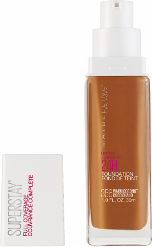 Maybelline Superstay Warm Coconut Full Coverage Liquid Foundation Perspective: back