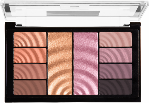 Maybelline Total Temptation Eyeshadow + Highlighter Palette Perspective: back