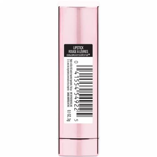 Maybelline Color Sensational Shine Compulsion Undressed Pink Lipstick Perspective: back