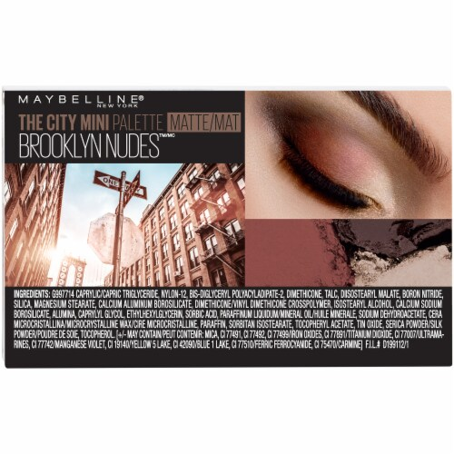 Maybelline The City Brooklyn Nudes Mini Eyeshadow Palette Perspective: back