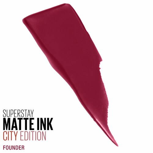 Maybelline SuperStay Matte Ink City Edition Founder Liquid Lipstick Perspective: back
