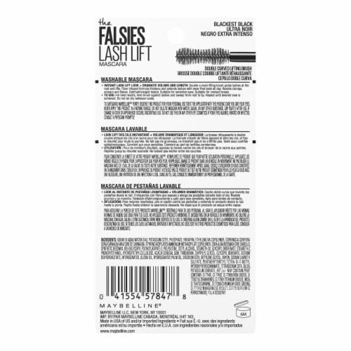 Maybelline The Falsies 200 Blackest Black Lash Lift Mascara Perspective: back