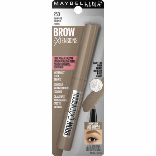 Maybelline Brow Extensions 250 Blonde Fiber Pomade Crayon Perspective: back