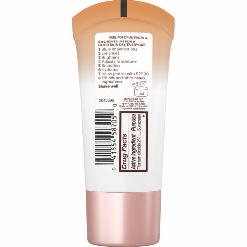 Maybelline Dream Fresh BB Cream 140 Deep Sheer Tint 8 in 1 Skin Perfector Perspective: back