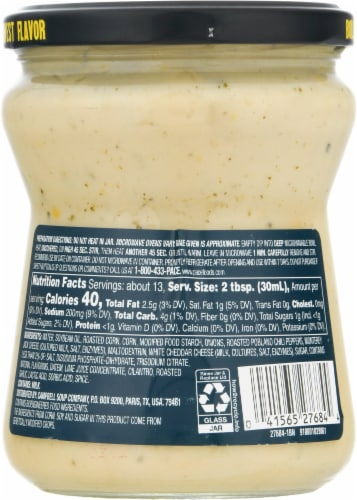 Pace® Street Style Corn Mild Queso Dip Perspective: back