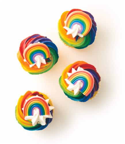 Bakery Fresh Goodness Pride Cupcakes Perspective: back