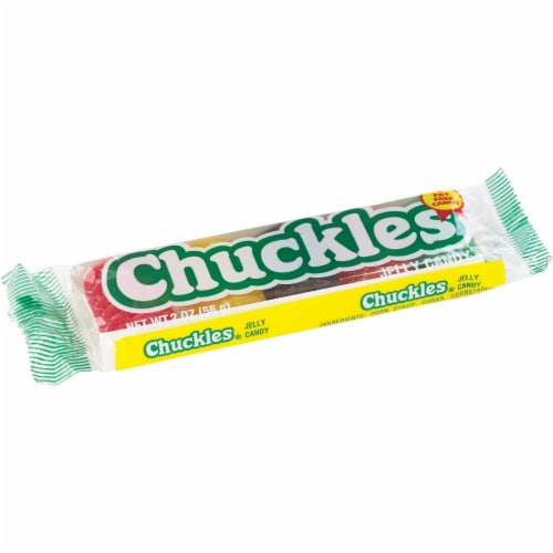 Chuckles Assorted Fruit Flavors 2 Oz. Jelly Candy 110418 Pack of 24 Perspective: back