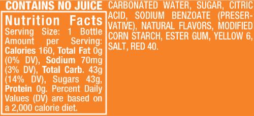 Mariano's - Crush Orange Soda, 6