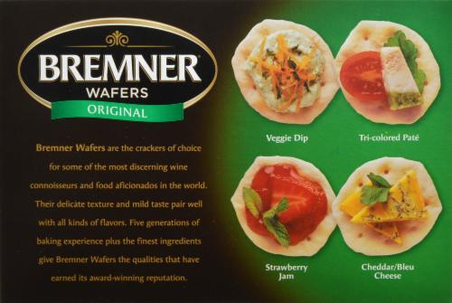 Bremner Wafers Original Perspective: back