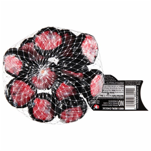 Mini Babybel White Cheddar Variety Semisoft Cheeses Perspective: back