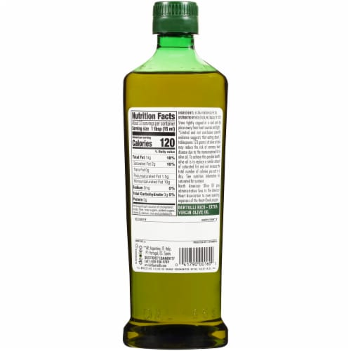 Bertolli Rich Taste Extra Virgin Olive Oil Perspective: back