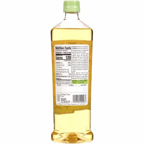 Bertolli Extra Light Olive Oil Perspective: back