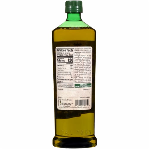 Bertolli Organic Rich Taste Extra Virgin Olive Oil Perspective: back