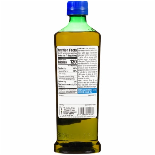 Bertolli® Smooth Extra Virgin Olive Oil Perspective: back