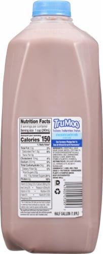 TruMoo 1% Lowfat Chocolate Milk Perspective: back