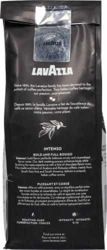 LavAzza Intenso Dark Roast Ground Coffee Perspective: back