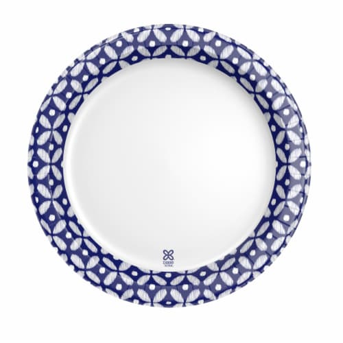 Dixie Ultra 8.5 Inch Paper Plates Perspective: back