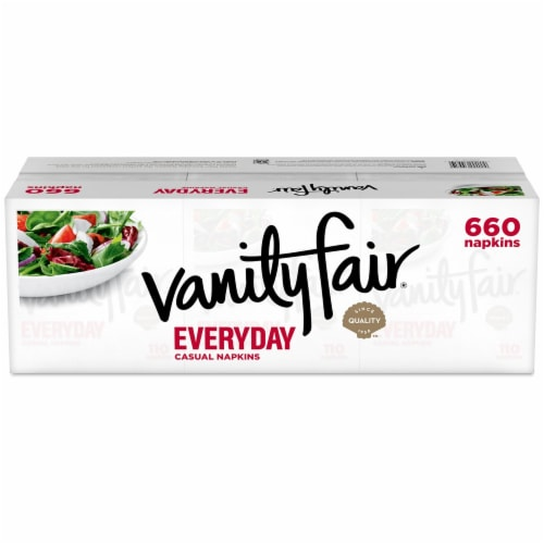 Vanity Fair® Everyday Casual Paper Napkins Perspective: back