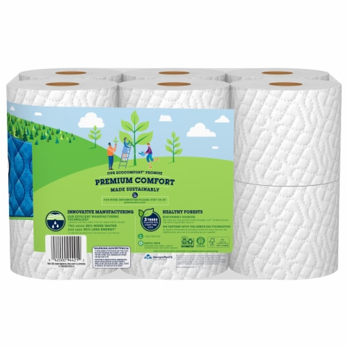 Quilted Northern Ultra Soft and Strong Bath Tissue Perspective: back