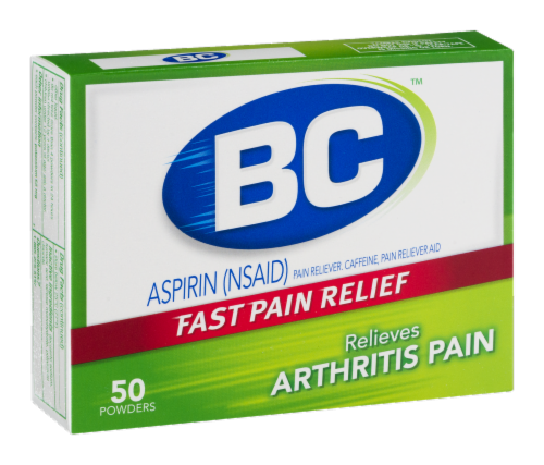 BC Arthritis Fast Pain Reliever Powders Perspective: back