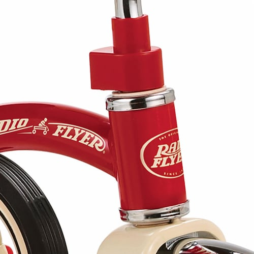 Radio Flyer Unisex 10 in. Dia. Tricycle Red - Case Of: 1; Perspective: back