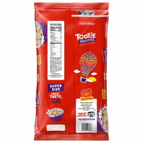 Malt-O-Meal Tootie Fruities Cereal Zip Pak Perspective: back