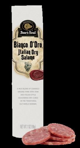 Boar's Head Bianco D'Oro Italian Dry Salame Perspective: back