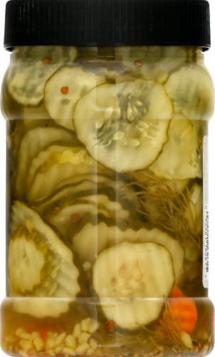 Boar's Head® Kosher Dill Pickle Chips Perspective: back