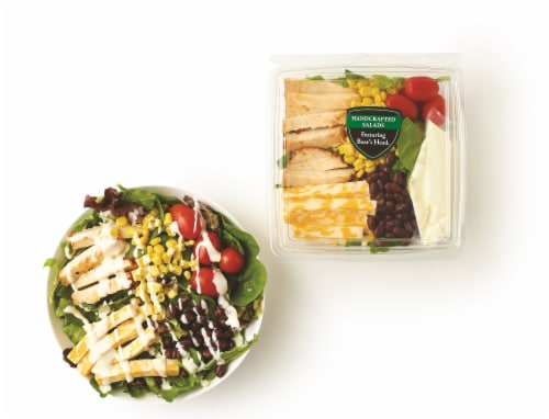 Boar's Head Grab 'N Go Bold Chipotle Southwest Salad Perspective: back