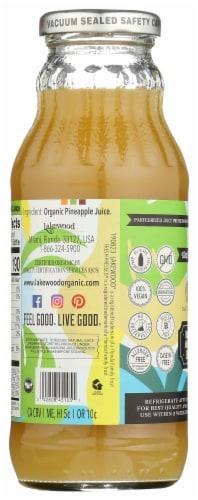 Lakewood Organic Pure Pineapple Fruit Juice Perspective: back