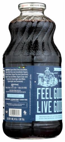 Lakewood Organic Pure Black Cherry Juice Perspective: back